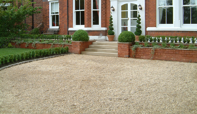 Cheap driveway ideas for House garden driveway designs